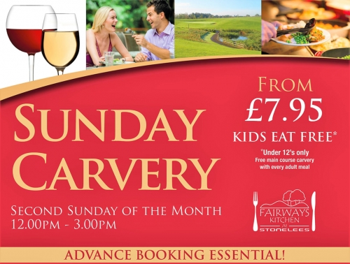 Image representing the Easter Sunday carvery in the Saxon Suite